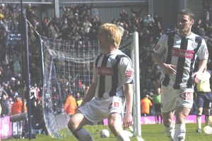 McShane celebrates with the Brummie