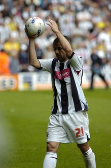 Mine! Kevin Phillips with the hat-trick ball