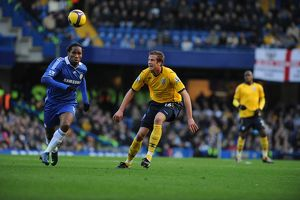 Olsson takes on Drogba