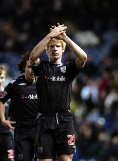 Paul McShane applauds the impressive Albion support