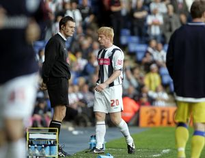 Paul McShane after his red card