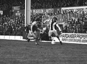 Peter Barnes on the wing