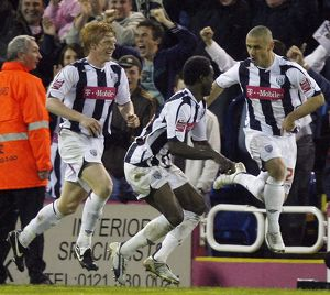 Phillips, Sodje & McShane celebrate