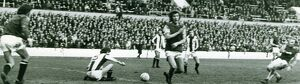 Pop Robson scores for the Hammers