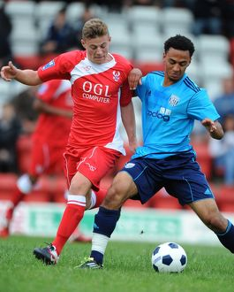 Pre Season Friendly - Kidderminster Harriers v West Bromwich Albion XI - Aggborough