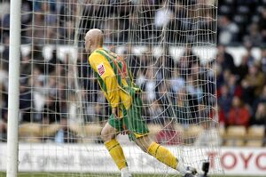 Richard Chaplow after scoring Albion's goal