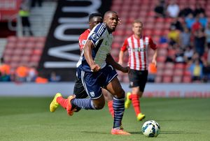<b>23.8.14 Southampton v WBA</b><br>Selection of 16 items