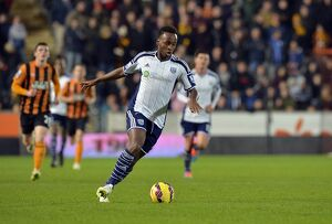 SOCCER : Barclays Premier League - Hull City v West Bromwich Albion