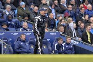 Soccer : Barclays Premier League - Manchester City v West Bromwich Albion