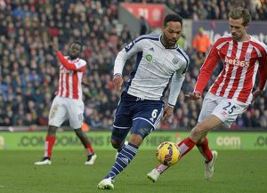 SOCCER : Barclays Premier League - Stoke City v West Bromwich Albion