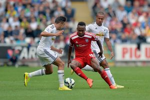 SOCCER : Barclays Premier League - Swansea City v West Bromwich Albion