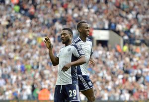 SOCCER : Barclays Premier League - West Bromwich Albion v Burnley