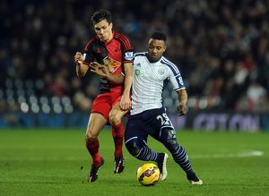 Soccer - Barclays Premier League - West Bromwich Albion v Swansea City