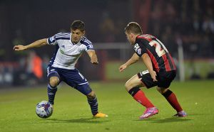 <b>28.10.14 Bournemouth v WBA</b><br>Selection of 13 items