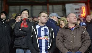 SOCCER - The Emirates FA Cup - Bristol City Vs West Bromwich Albion