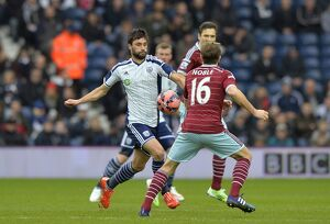 SOCCER : The FA Cup round five - West Bromwich Albion v West Ham United