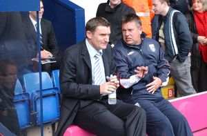 historic/2000 2009 season 2006 07 albion v wolves 22 october 2006/tony mowbray craig shakespeare discuss game