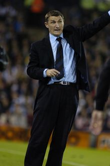 Tony Mowbray directs the play