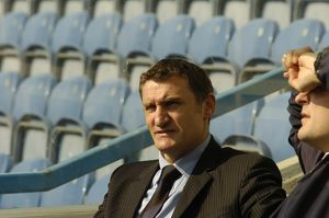 Tony Mowbray before the game