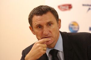 Tony Mowbray at the post match press conference